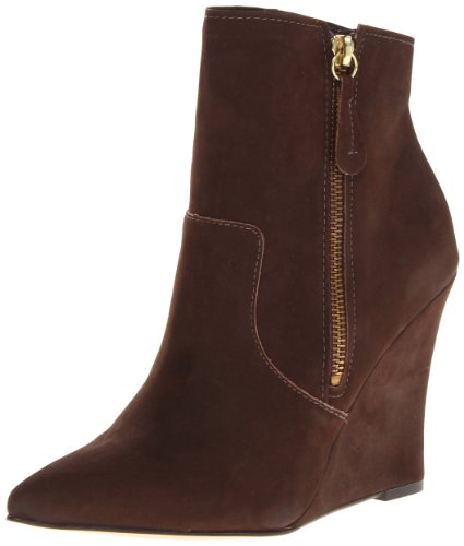 STEVEN by Steve Madden Women's Meter Boot,Brown Distressed,6 M US