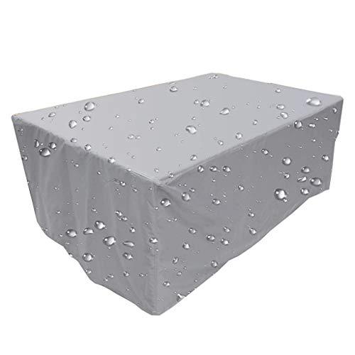 ZHML Funda De Muebles De Jardín Impermeables, Exterior Conjuntos De Muebles Cubierta Impermeable, 420D Tela Oxford Resistente Al Desgarro Funda Protectora, para Sofa De Jardin, Al Aire Libre, Patio.