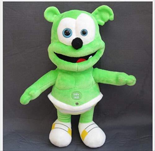 TOPCOMWW Plush Gummy Bear 30cm Gummy Bear Voice Pet Funny Lovely Doll Toys Sounding Plush Toy Best Gift for Kids
