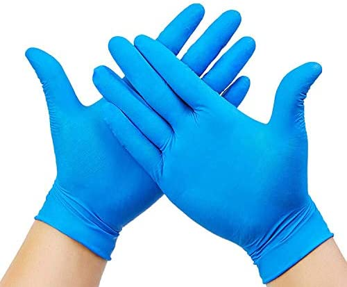 AVO 20 Pack Large Disposable Gloves Hypoallergenic Latex Free Protective Extra Strong Premium product image