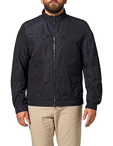 Geox Mens M Renny V-Oxford Polyester Jacket, Blue Nights, 50