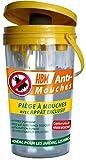 Piège à Mouches 2L + Recharge Appât 40 Grs INCLUSE