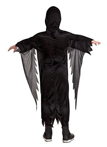 Boland- Costume Horror Ghostface Howling Harry per Bambini, Nero, 7-9 anni, 78082