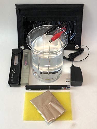 Ionic Colloidal Silver Generator with (99.99%) .9999 Silver. Just Add Water and A Jar!