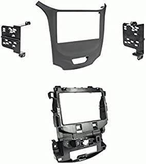 Carxtc Double Din Install Car Stereo Dash Kit for a Aftermarket Radio Fits 1995-2000 GMC C//K Pickup Trim Bezel is Black