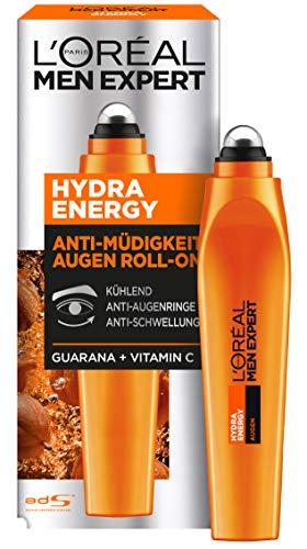 L\'Oréal Men Expert Hydra Energy Anti-Müdigkeits Augen Roll-On, 1 Stück