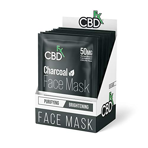 CBDfx CBD Gesichtsmaske, 50 mg CBD, 10...