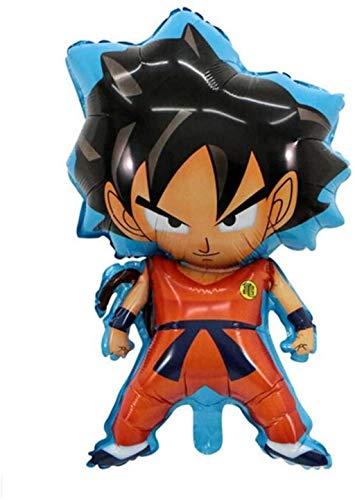 86XH Globo New Dragon Ball Sun Wukong juguete de niños modeling globo de película de aluminio regalo de cumpleaños (tamaño Sun Wukong B), Sun Wukong B PinBaiYa (tamaño: Sun Wukong B)