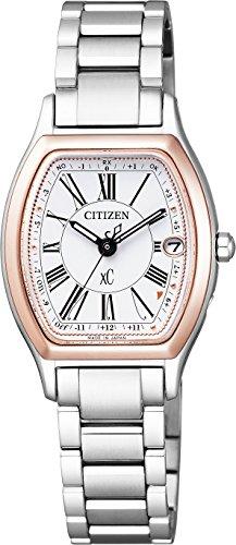 [シチズン]CITIZEN 腕時計 xC クロスシー エコ・ドライブ 電波時計 サクラピンク ティタニアライン ハッピーフライトシリーズ ES9355-58A レディース