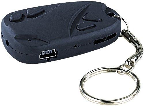 OctaCam Schlüsselanhänger Kamera: Mini-Schlüsselb&-Videokamera AC-480 im Fernbedienungs-Erscheinungsbild (Schlüsselb&kamera)