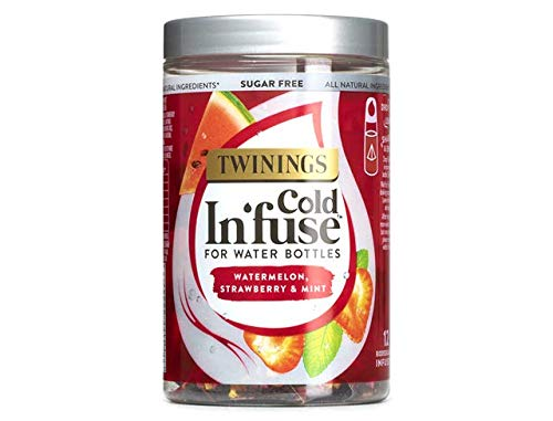 Twinings Cold In'Fuse Watermelon Strawberry and Mint (Pack of 6 Jars, Total...