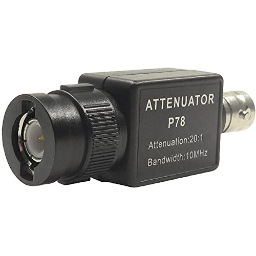 P78 20:1 신호 감쇠기 10MHZ 대역 오실로스코프 액세서리 BNC 어댑터 HT201 업그레이드 버전