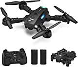 JT63 Mini Drones for Kids Beginners,Foldable Pocket RC Quadcopter with Long Flight Time,2 Batteries,Altitude...