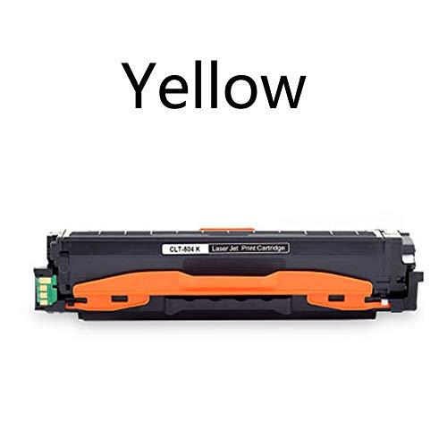 Cartucho de tóner compatible con Samsung CLT-504S CLP-415n CLX-4195n C1810w impresora láser con chips, color amarillo Größe