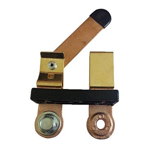 B Blesiya Separador de Batería Cuchilla de Separación Interruptor de Cuchilla Interruptor de Apagado Del Soporte Lateral Poste Lateral Apagado Pesado