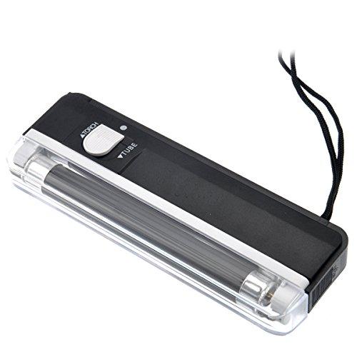 rosenice de 2en 1portátil Handheld Luz UV Moneda Detector de dinero con flash Light
