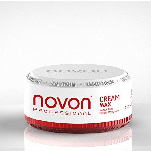 6 x Novon Professional Cream Wax 150 ml - angehmener Duft