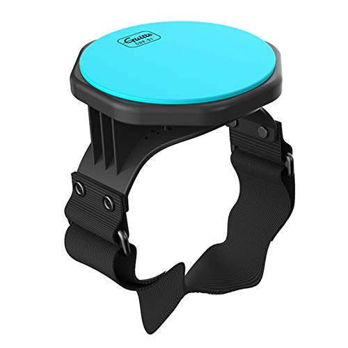 Drum Practice Pad - Guitto GDP-01 Leg Practice Drum with Strap for Kids for Adults, 5-Inch