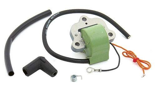 PARTSRUN Marine Ignition Coil Kit for 18-5194 BRP OMC Evinrude Johnson Outboard 50-135 HP 502890 584632 582160 Early 1970s ZF-IG-A00299