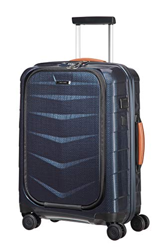 SAMSONITE Lite-Biz - Spinner with USB Port Koffer, 55 cm, 37 Liter, Midnight Blue
