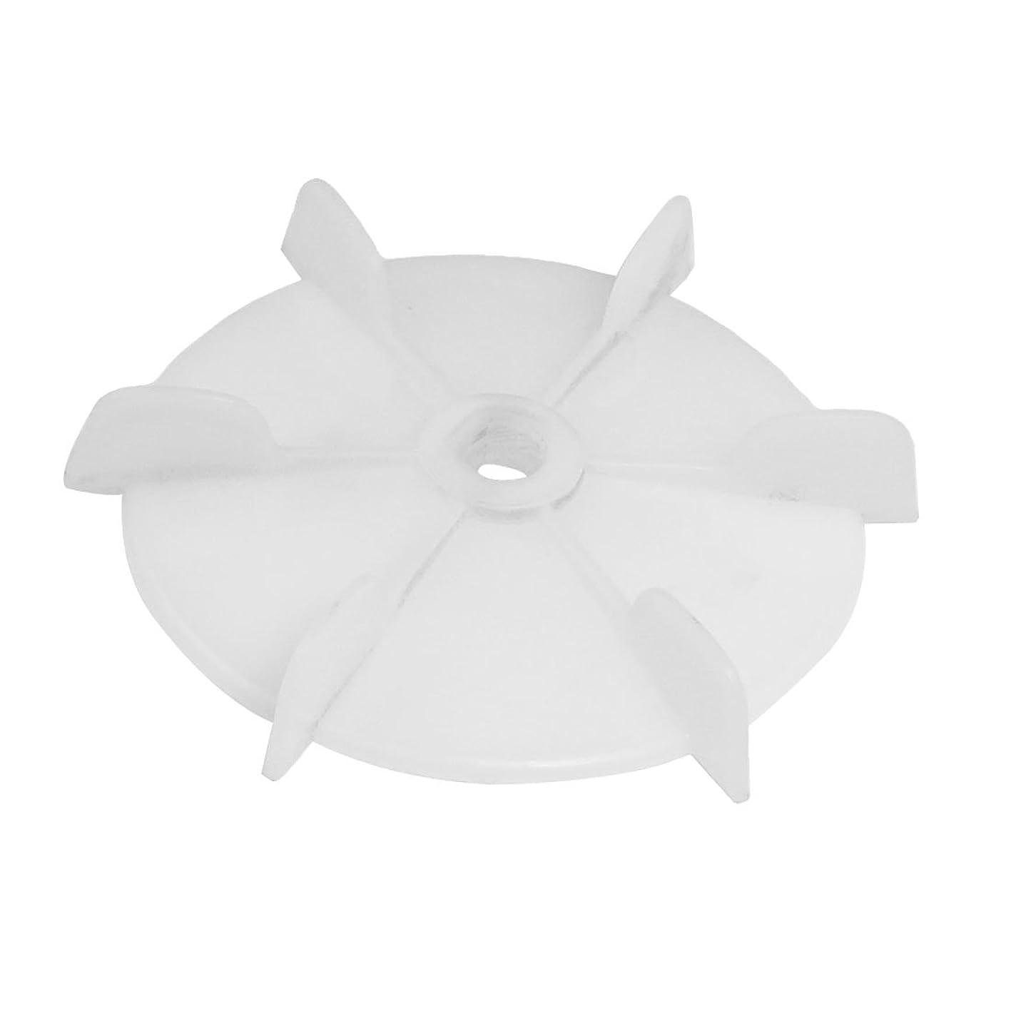 uxcell Spare Part 12mm Inner Dia 6 Impeller Plastic Motor Fan Vane Wheel ziwncsuglcx237