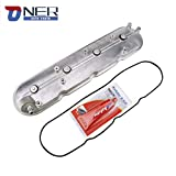 ONER Driver Side Valve Cover with Gasket & Bolts Compatible with 1999-2008 Cadillac Escalade, Chevy Silverado, Suburban, Tahoe, Trailblazer, GMC Sierra, Yukon,Replace# 12570427 264-965