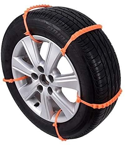 IOUYRRN 10st / set Bil Universal Mini Plast Vinterdäck Hjul för bilar/SUV Car-Styling Anti-Skid Autocross Outdoor 90709 Bildäck