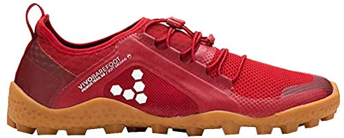 Vivobarefoot Primus Trail Sg, Mens Recycled Breathable Mesh Off-Road Shoe with Barefoot Soft Ground Sole