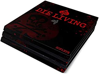SOFLETE Die Living Guts Full Faceplates Skin Decal Wrap with 2 Piece Lightbar Decals for Playstation 4 Pro