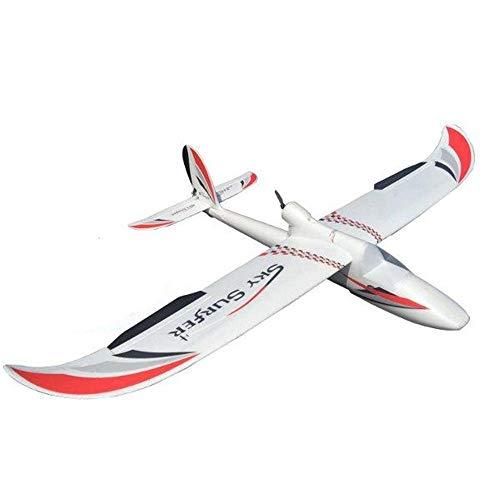QinWenYan Aereo RC Aerei RC Kit Sky Surfer X8 1.400 Millimetri Apertura Alare FPV Telecomandati Velivoli (Color : Red, Size : Kit)