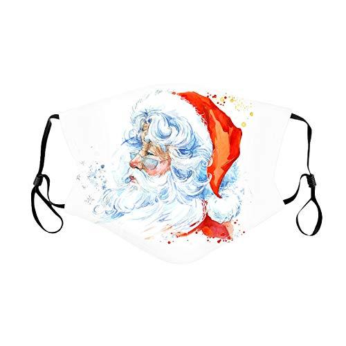 Toalla de Cubierta Ajustable con Diadema Reutilizable con Estampado navideño para niños 1 Pieza