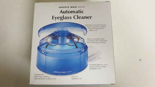 Sharper Image Automatic Eyeglass Cleaner SI632 - No Soultion Included