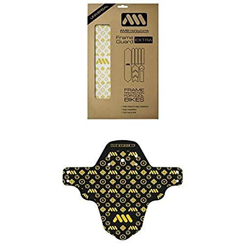 All Mountain Style Protector de cuadro XL + Guardabarros delantero Maori