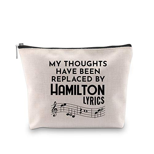 Novelty Hamilton Musical Gift My Thoughts Have Been Replaced by Hamilton...