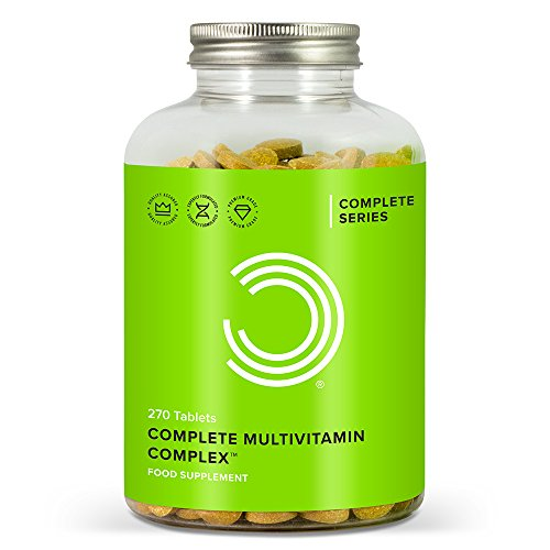 BULK POWDERS Complete Multivitamin Complex Tablets, Pack of 270