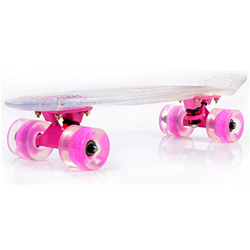 Niños Skate/Flashing disco de cepillo de la calle/ la rueda/Alicia patinetas/Carro de...