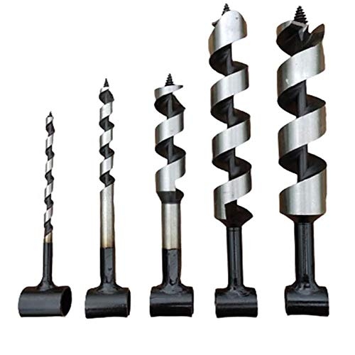 Multipurpose Manual Survival Drill Bit, Scotch Eye Wood Auger Drill Bit, Woodworking Hand Drill, for Bushcraft and Camping (25mm)