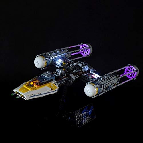 Nlne Kit De Iluminación Led para Lego Star Wars Y-Wing Starfighter, Compatible con Ladrillos De Construcción Lego Modelo 75181, NO Incluido En El Modelo