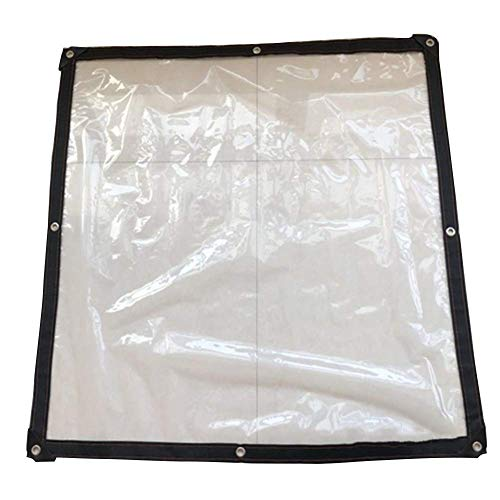 YYL Garden Furniture Covers Garden Furniture Covers Clear Tarpaulin Sheet Membrane Waterproof Polyethylene Plastic Protective Covering Thickness 0.12mm Patio Furniture Covers,Transparent.