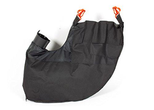 Florabest Ian 285190 - Saco de recogida con soporte y cremallera para soplador de hojas eléctrico LIDL Fls 3000 B2 (45 L)