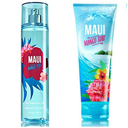 Bath & Body Works - Signature Collection – MAUI MANGO SURF -Gift Set-...