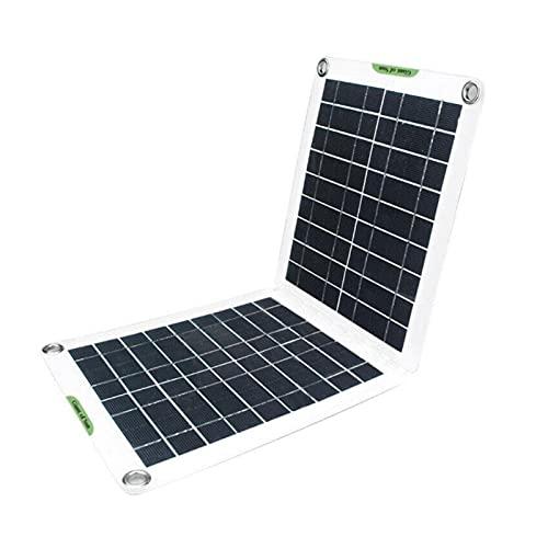 uerdand 1 PC Panel Solar Plegable 6V 9V 12V 18V 60W Impermeable IP65 Panel Solar portátil Multifuncional Bricolaje Cargador casa al Aire Libre Products