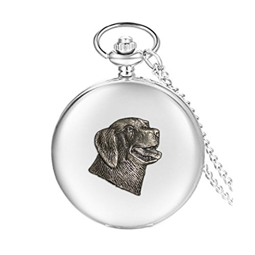 Knight Labrador - Reloj de Bolsillo para Perro
