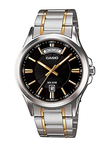 Casio Enticer Analog Black Dial Men's Watch - MTP-1381G-1AVDF (A842)