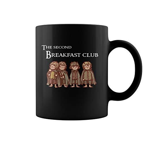 The Second Breakfast Club 11 oz Funny Coffe Gift Mug