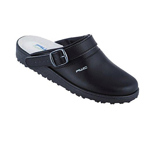 AWC-Footwear Unisex-Erwachsene Classic Arbeitsschuhe, Schwarz (Schwarz), 38 EU