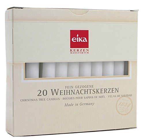 German Christmas Tree Candles WHITE