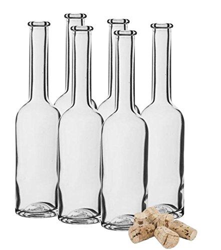 100ml–10cl botellas de vidrio 6+ corcho casa cerveza entrega gratuita