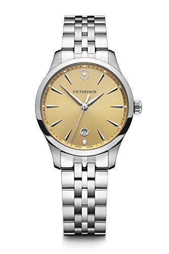 Victorinox Mujer Alliance Small - Reloj de Acero Inoxidable de Cuarzo analógico de fabricación Suiza 241829