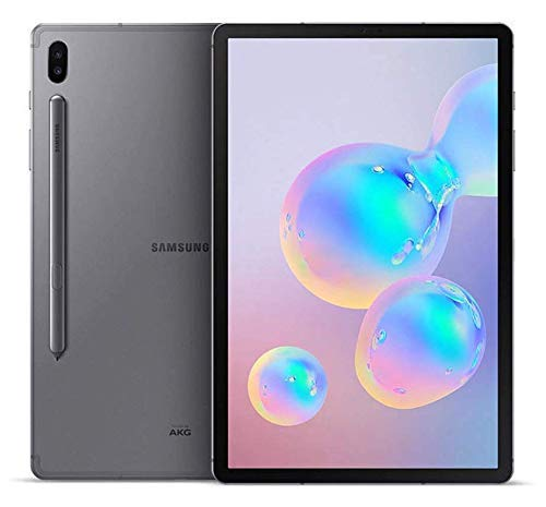 Samsung Galaxy Tab S6 10.5' SM-T860 WiFi Only 128GB 6GB RAM No Warranty - International Model (Mountain Gray)